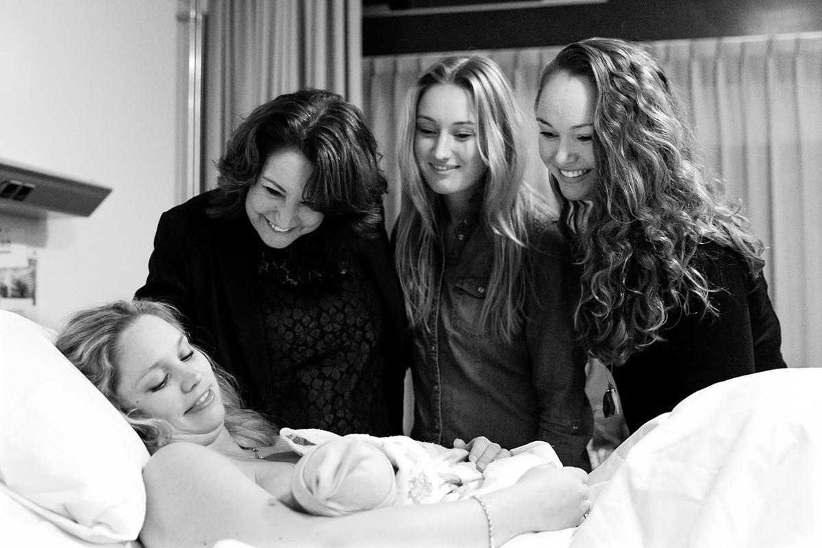 Geboortefotografie in Spaarne Gasthuis