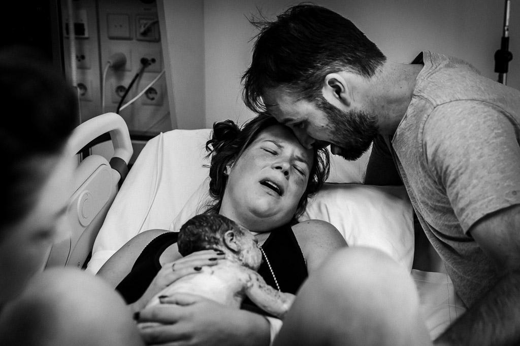 Een geboortereportage in het Diak in Utrecht